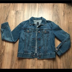 Gap Jeans Jacket Size XS Cropped
